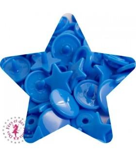 Pressions KAM - Etoile - Bleu Vif - B8