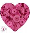 Pressions KAM - Coeur - Rose Flashy - B47